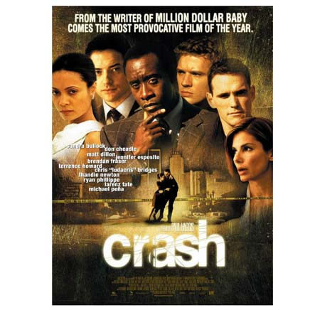 Character analysis in the movie crash